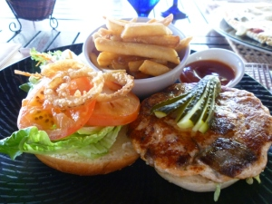Main - Salmon Burger