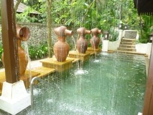 Traditional Malay bath