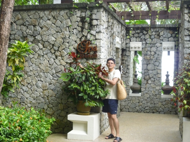 Entrance of Spa Village