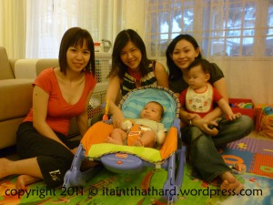 We went oooh and aaah over Baby Jonah (and you too, Ling!)