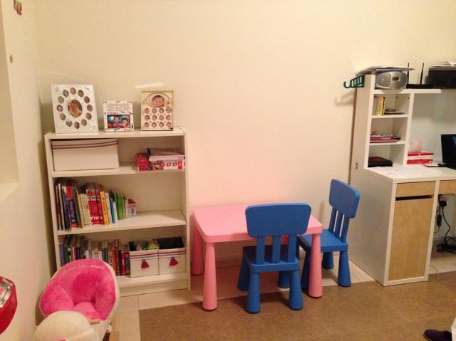 Inside the playroom