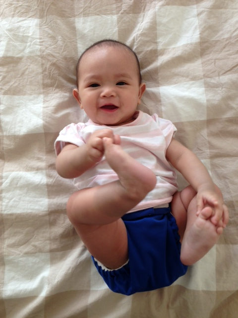 Xan at 5 months