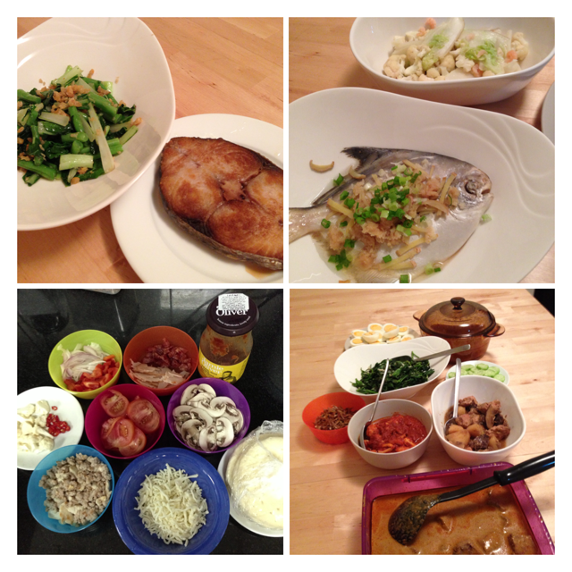 Dinner varieties by small-time chef Joey